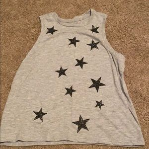 Star muscle tee